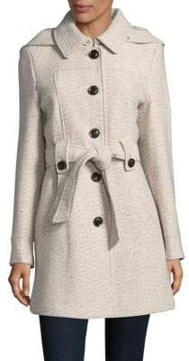 Gallery Textured Trench Coat