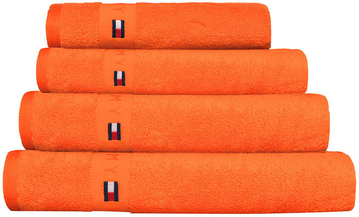Plain Orange Range Towel - Bath Sheet