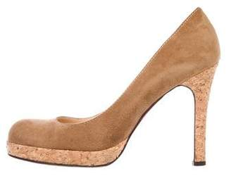 Christian Louboutin Simple Suede Pumps