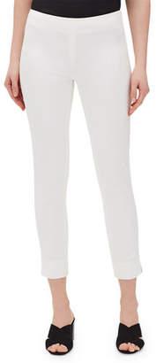 Lafayette 148 New York Fundamental Bi-Stretch Stanton Cropped Pants