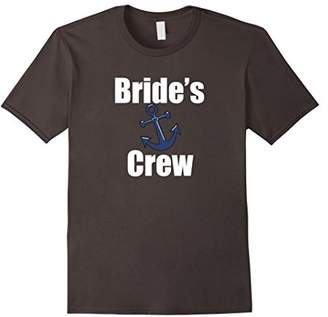 Bride's Crew Shirt Nautical Bachelorette Bridal Shower Party