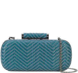Inge Christopher small woven clutch bag