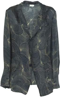 Dries Van Noten Sheer Print Blazer