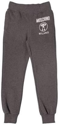 Moschino Logo Printed Cotton Sweatpants