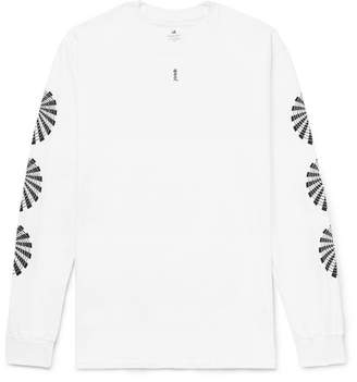 SASQUATCHfabrix. Printed Cotton-Jersey T-Shirt