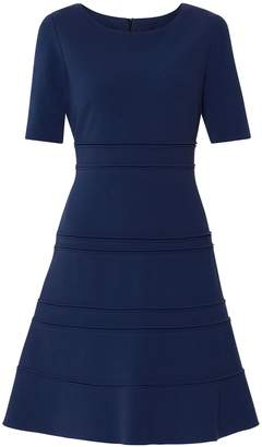Next Womens Gina Bacconi Blue Brie Crepe Dress
