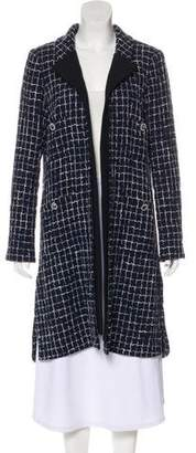 Chanel Tweed Knee-Length Coat