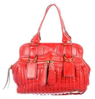 Chloé Leather Bay Bag