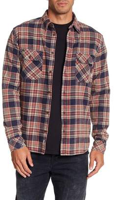 Quiksilver Tangloop Plaid Flannel Regular Fit Shirt