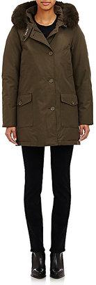 Woolrich John Rich & Bros. Women's Fur Arctic Parka-DARK GREEN $795 thestylecure.com