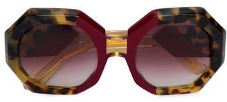 Jacques Marie Mage Elsa oversized sunglasses