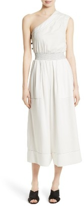 Women's Tracy Reese One-Shoulder Jumpsuit $348 thestylecure.com
