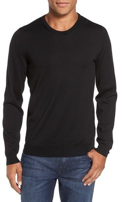 Men's Boss Leno B Crewneck Wool Sweater $165 thestylecure.com