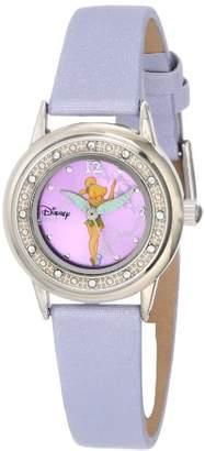 Disney Women's TK1008 Tinkerbell Sunray Dial Strap Watch