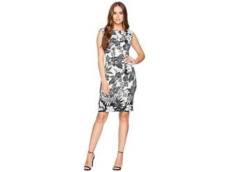 Chaps Twist-Front Jersey Dress Women's Dress
