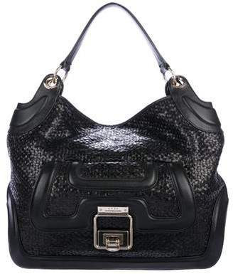 Anya Hindmarch Woven Beverly Hobo