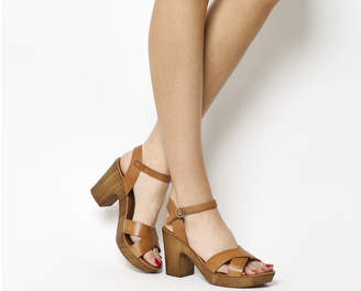 Office Morelle Wood Sandals