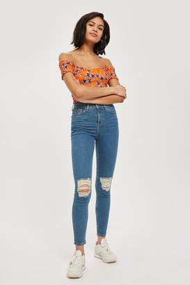 Topshop Authentic Ripped Jamie Jeans