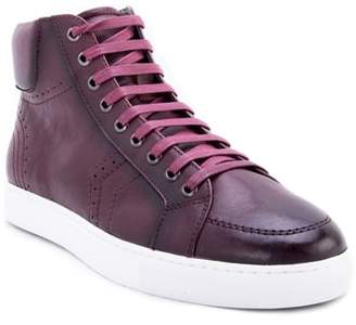 Zanzara Uglow Perforated High Top Sneaker