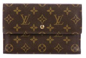 Louis Vuitton Monogram Document Wallet