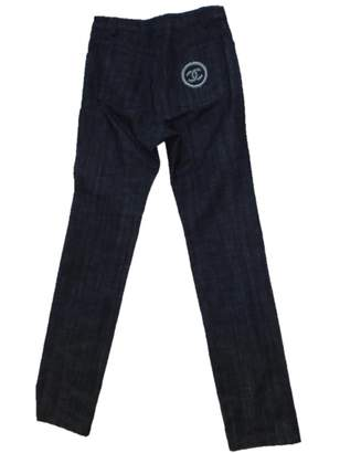 Chanel Blue Cotton - elasthane Jeans