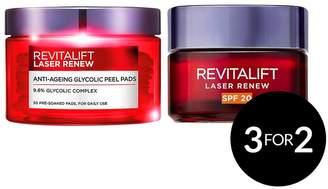 L'Oreal Revitalift At Home Peel Kit