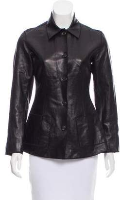 Rozae Nichols Lightweight Leather Jacket