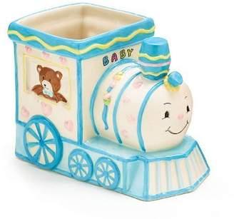 Burton & Smiley Choo Choo Train Engine Planter/holder Adorable Baby Nursery or Shower Decor