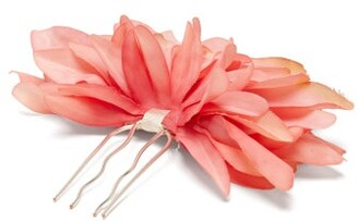 Dahlia Philippa Craddock - Giant Faux Flower Hairpin - Womens - Pink