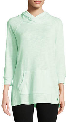 Calvin Klein Quarter-Sleeve Hoodie