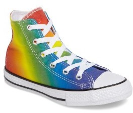 Toddler Converse Chuck Taylor All Star Pride High Top Sneaker $34.95 thestylecure.com
