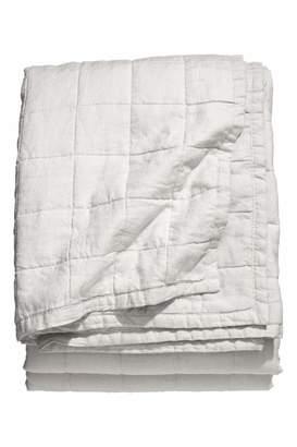 H&M Washed Linen Bedspread