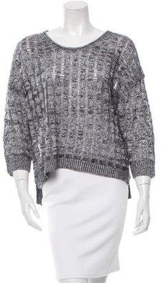 Inhabit Linen Open Knit Sweater w/ Tags $125 thestylecure.com
