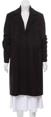 DKNY Wool-Blend Knee-Length Coat