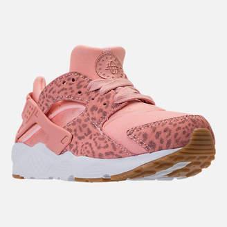 Nike Girls' Preschool Huarache Run SE Running Shoes