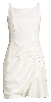 Nanette Lepore Women's Shirred Mini Dress