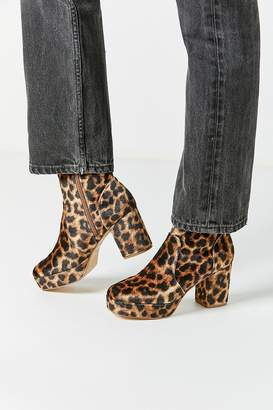Urban Outfitters Olivia Leopard Platform Boot