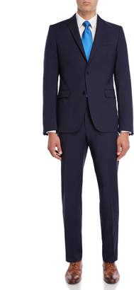 Versace Two-Piece Blue Night Suit