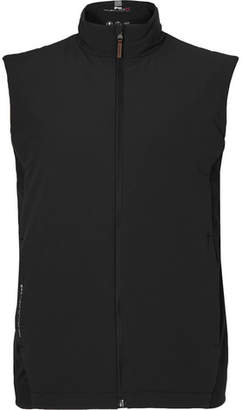 RLX Ralph Lauren Panelled Stretch-Jersey and Shell Golf Gilet