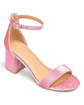 41eddabf1ed Pink Block Heel Shoes - ShopStyle UK