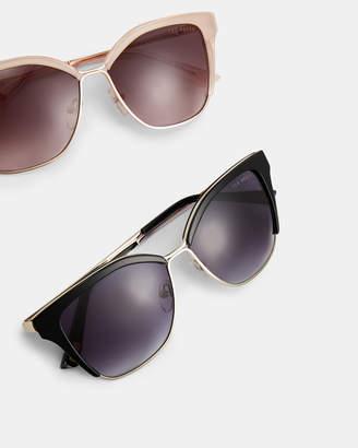 Ted Baker MORJANA Geo square sunglasses