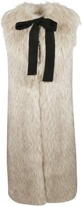 Elisabetta Franchi Celyn B. Long Fur Vest