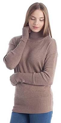 Fancy Stitch Women's Turtleneck Regular Fit Sweater