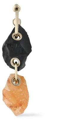 Proenza Schouler Gold-Tone Stone Earring