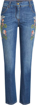 Etro Embroidered Jeans