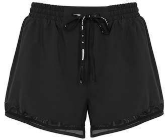 The Upside Black Mesh And Shell Shorts