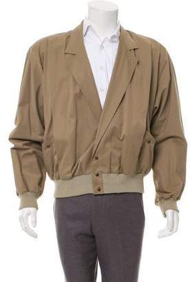 Gucci Notched-Lapel Bomber Jacket