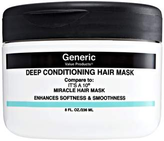 It's A 10 Generic Value Products Deep Conditioning Hair Mask Compare to Its a 10 Miracle Hair Mask