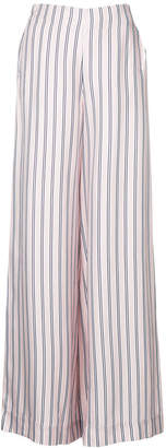 Zimmermann sunny relaxed wide leg trousers