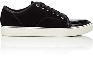 Lanvin Men's Patent-Cap-Toe Sneakers